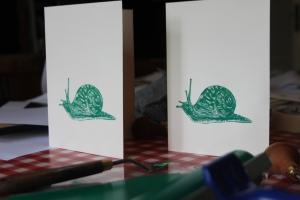 snail cards
