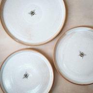 bee plates