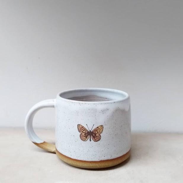 butterdfly mug